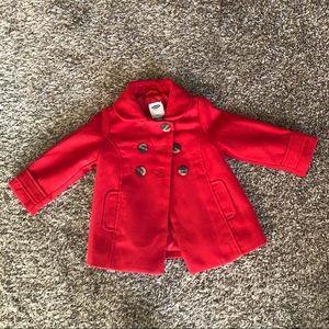 Button front A-Line Coat